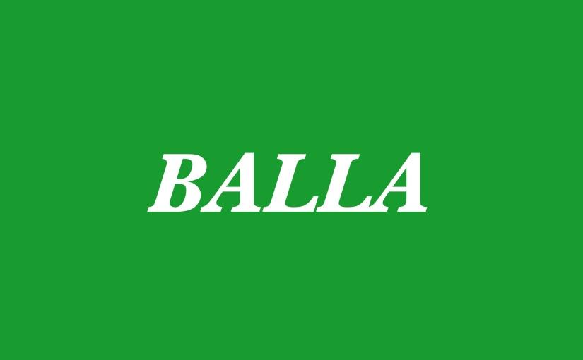 BALLA (ADAMA's sequel from women'sseries)
